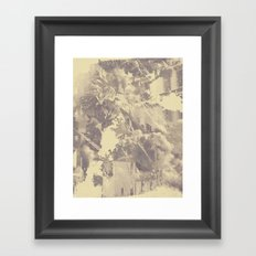 escalate Framed Art Print