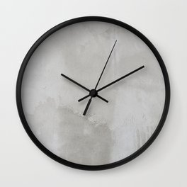 just cement Wall Clock