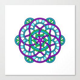 Celtic | Colorful | Mandala Canvas Print