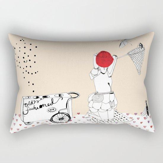 Catch more flies with honey... Rectangular Pillow