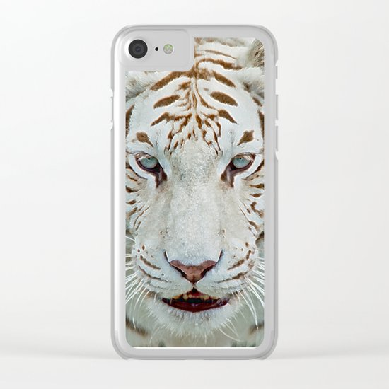 TIGER TIGER 2 Clear iPhone Case