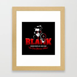 Mr Blank (Grosse Pointe Blank) Framed Art Print