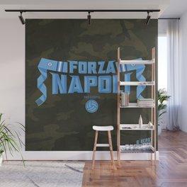 Forza Napoli! (camo variant) Wall Mural