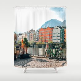 Cry me a River | Innsbruck, Austria Shower Curtain
