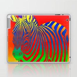 Colorful Psychedelic Rainbow Zebra Laptop & iPad Skin