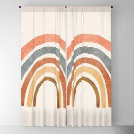 Abstract Rainbow 88 Blackout Curtain