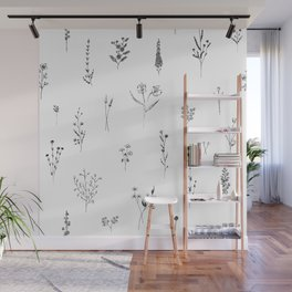 Wildflowers BIG Wall Mural