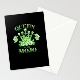 Queen of my MOJO Stationery Cards