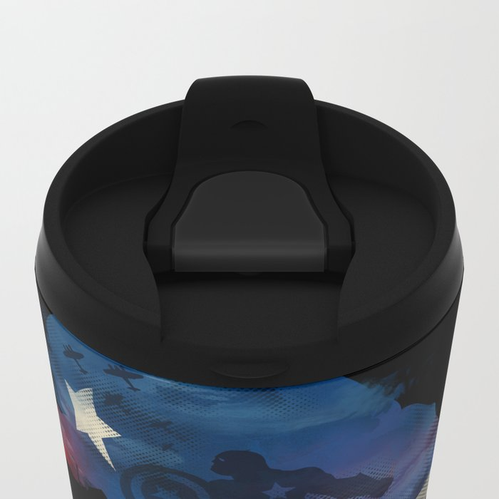 For Truth And Justice Metal Travel Mug