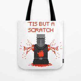 Monty Phyton black knight Tote Bag