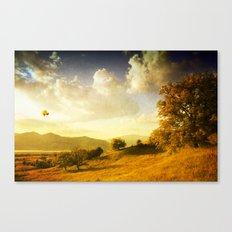 Surreal October Canvas Print