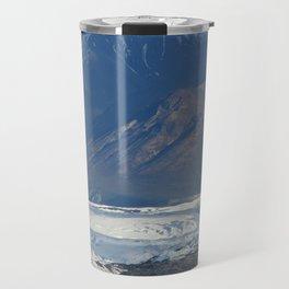 The Ice of Alaska  Travel Mug