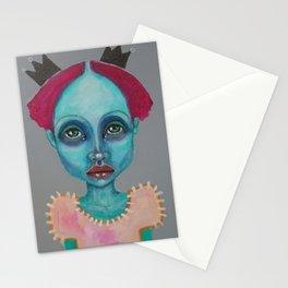 Demokrit`s girl Stationery Cards