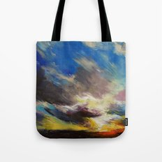 Cloudburst Tote Bag