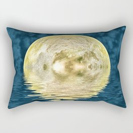 Golden moon Rectangular Pillow