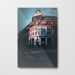 Manchester by Dusk Metal Print