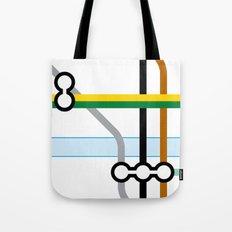 Tube Junction 2 Tote Bag