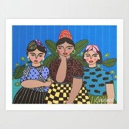 Juchitecas Art Print