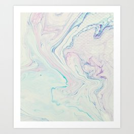 Marble No. 11 Art Print