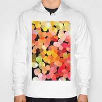 confetti Hoodies featuring Confetti by Rosie Brown