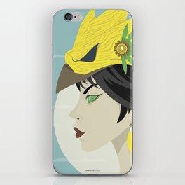 Lightning Queen iPhone Skin