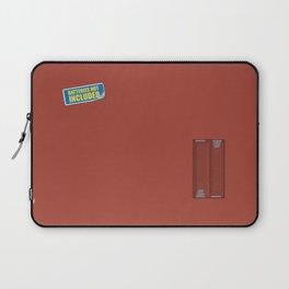 Batteries Not Included ~ Medium Carmine Laptop Sleeve