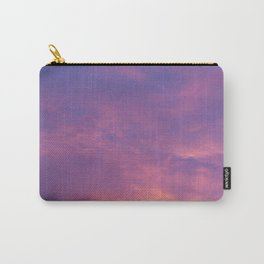 Peach & Violet Blaze Carry-All Pouch
