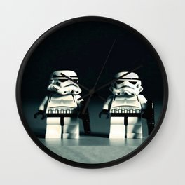 lego stromtroopers Wall Clock