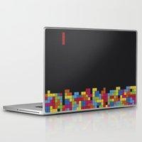 tetris Laptop & iPad Skins featuring Tetris by Psocy Shop