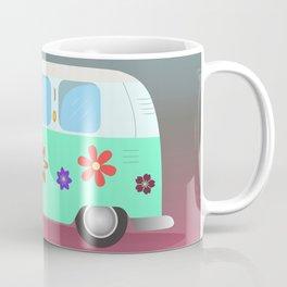 Van Hippie vector Coffee Mug