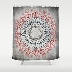 Granite Mandala Shower Curtain