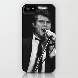 Philippe Marcade lead singer of The Senders iPhone Case