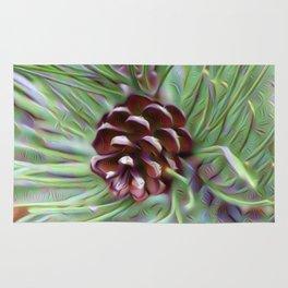 Silky Pinecone Rug