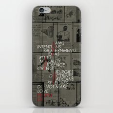 make love iPhone & iPod Skin
