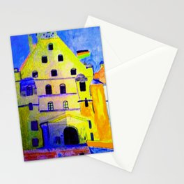 Historisches Gebäude Burg Trausnitz Landshut Stationery Cards