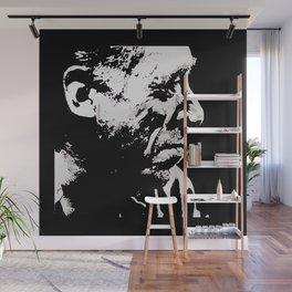 Charles BUKOWSKI - poetry PORTRAIT Wall Mural