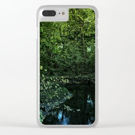 Wnding Creek Clear iPhone Case