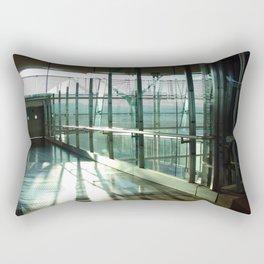 Boarding shadows Rectangular Pillow