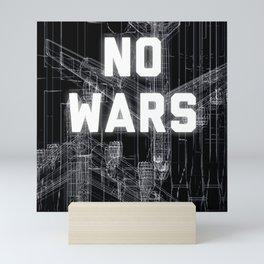 NO WARS  Mini Art Print