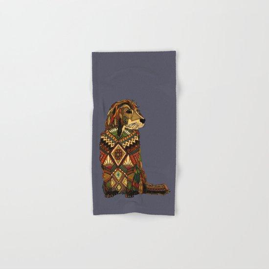 Golden Retriever dusk Hand & Bath Towel