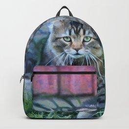 Back Yard Jungle Cat Backpack