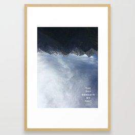 The Sky Beneath My Feet - Jade Dragon 2 Framed Art Print