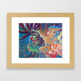 Animal Spirit Framed Art Print