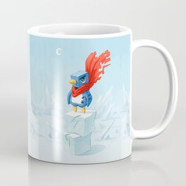 Super Penguin Coffee Mug