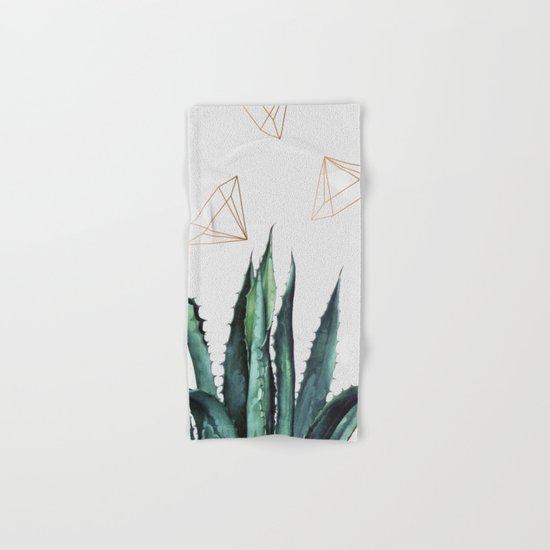Agave Geometry #society6 #decor #buyart Hand & Bath Towel