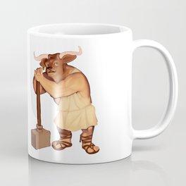 Monster of the Week: Manny the Minotaur of Crete Coffee Mug
