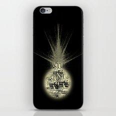 sunlight on Mars iPhone & iPod Skin