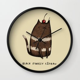 Black Forest Câteau Wall Clock