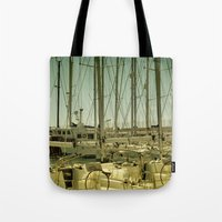 marina Tote Bags featuring marina by gzm_guvenc