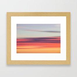 Abstract Sunrise Framed Art Print